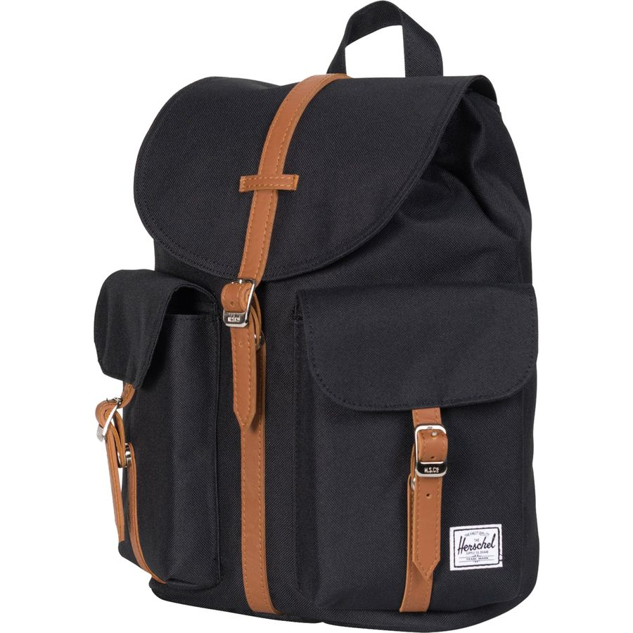 ccb6415db6 Herschel Supply - Dawson 13L Backpack - Women s - Black Tan Synthetic  Leather