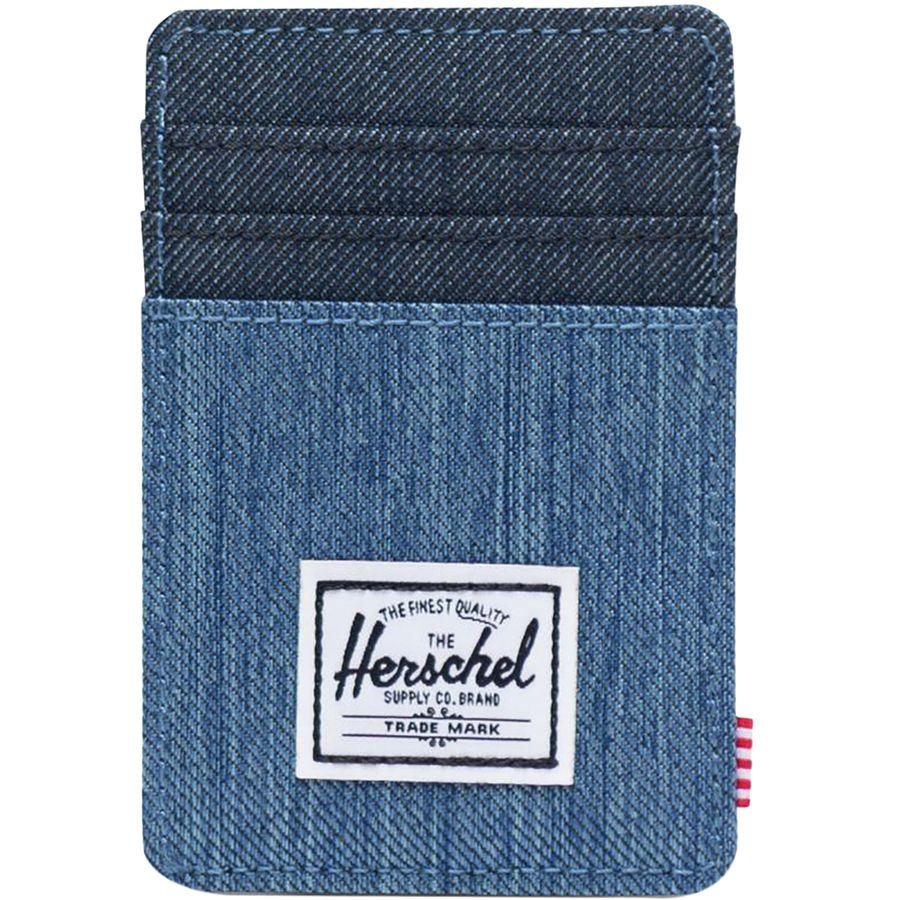 40203ef29b1 Herschel Supply - Raven RFID Card Holder Wallet - Men s - Faded  Denim Indigo Denim
