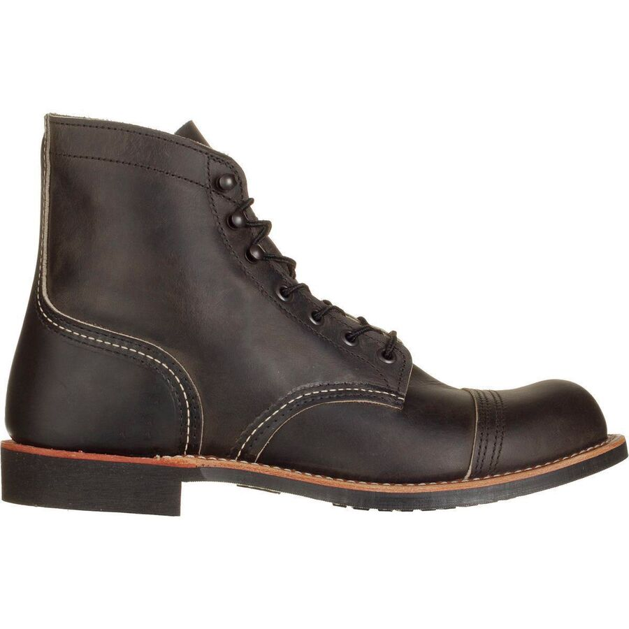 Red Wing Heritage - 6-Inch Iron Ranger Boot - Men's - Charcoal Rough &