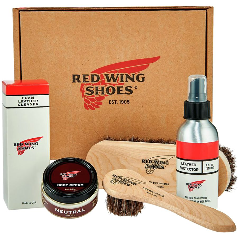 Red Wing Heritage Smooth-Finish Leather Care Kit