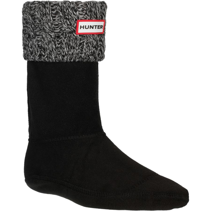 Hunter Boots Original 6 Stitch Cable Boot Sock - Womens