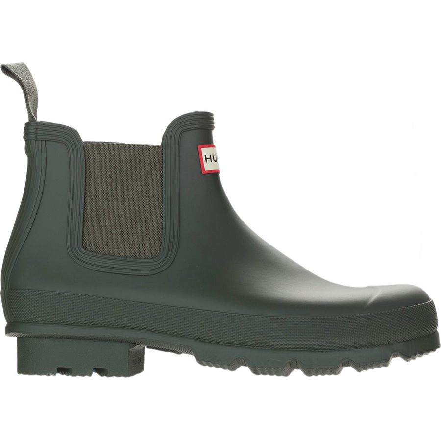 Hunter - Original Chelsea Rain Boot - Men's - Dark Olive