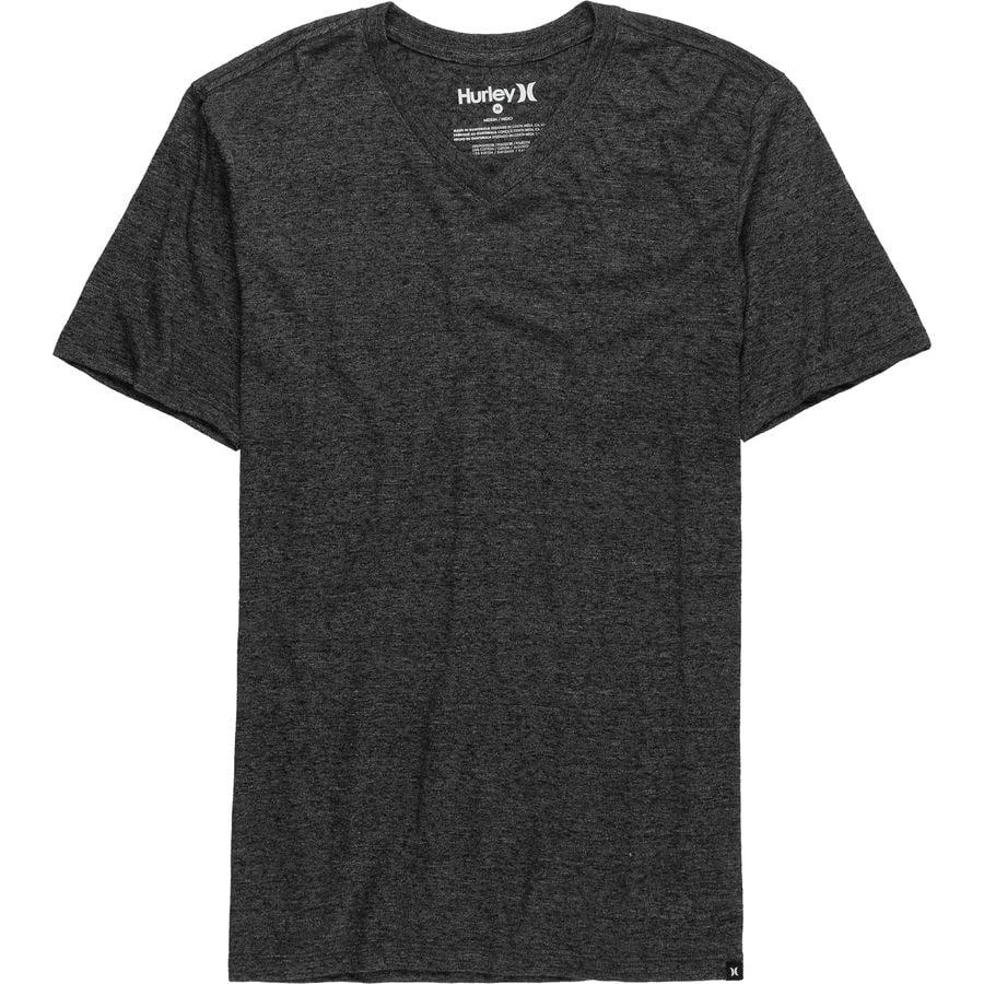 Hurley Staple Tri-Blend V-Neck T-Shirt - Mens