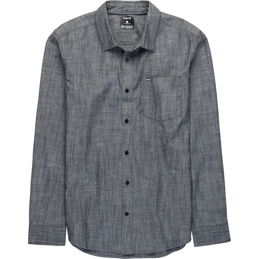 Hurley One & Only Long-Sleeve Shirt - Mens