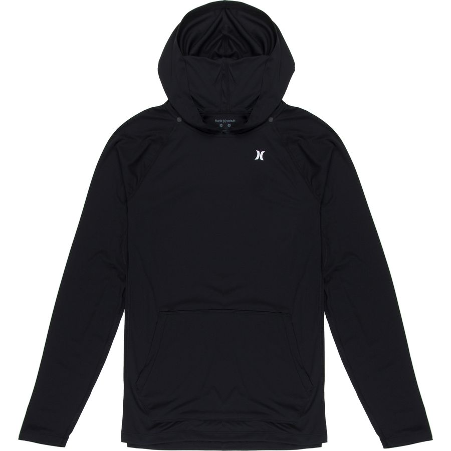 Hurley Wet/Dry Icon Hooded Long-Sleeve Shirt - Mens
