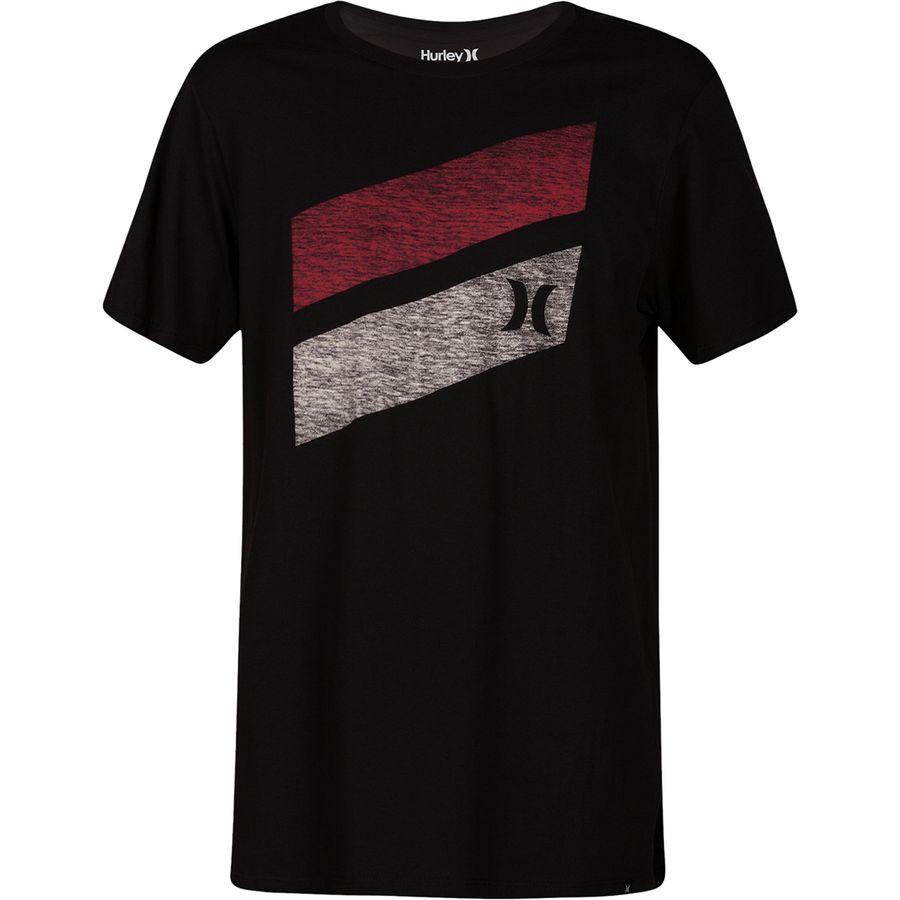 Hurley Icon Slash Push Through Short-Sleeve T-Shirt - Mens