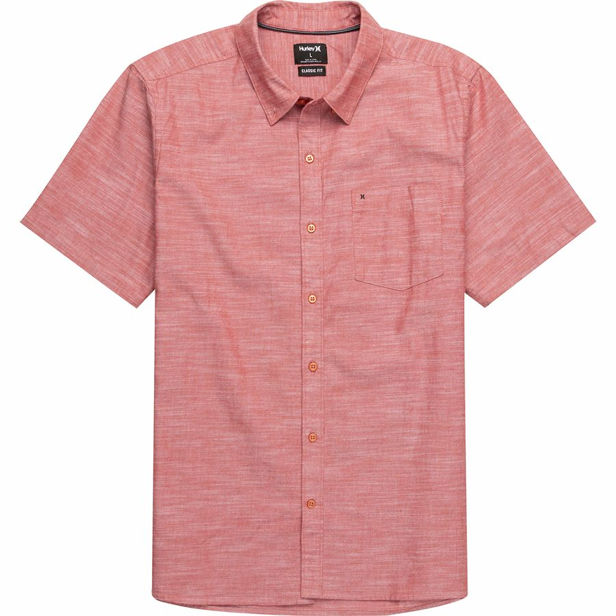 Hurley One Only 20 Short Sleeve Shirt Mens Backcountry