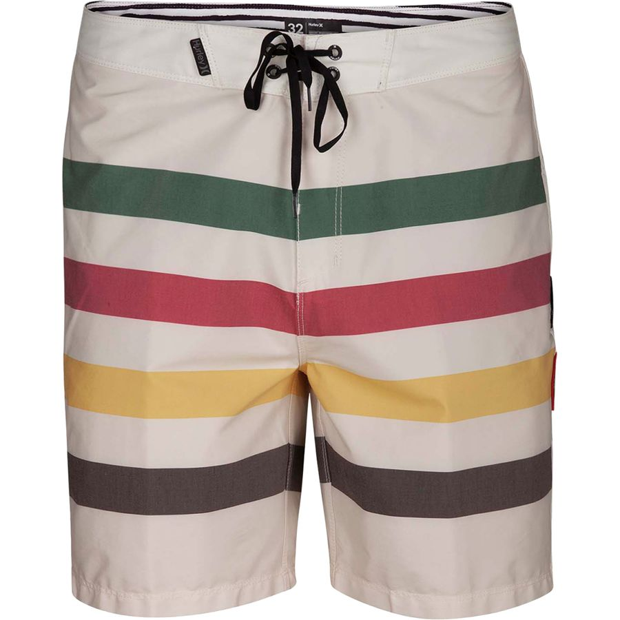6637179808 Hurley - X Pendleton Glacier Beachside 18in Board Short - Men's -