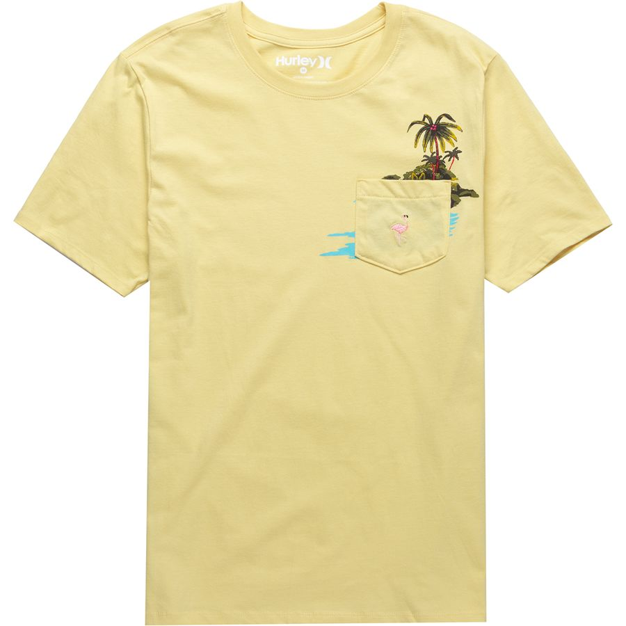 Hurley Premium Flamingo Pocket Short-Sleeve T-Shirt - Men's