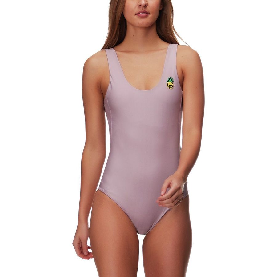7ca8889f7e675 Hurley - Quick Dry Pineapple One-Piece Swimsuit - Women's - Elemental Rose