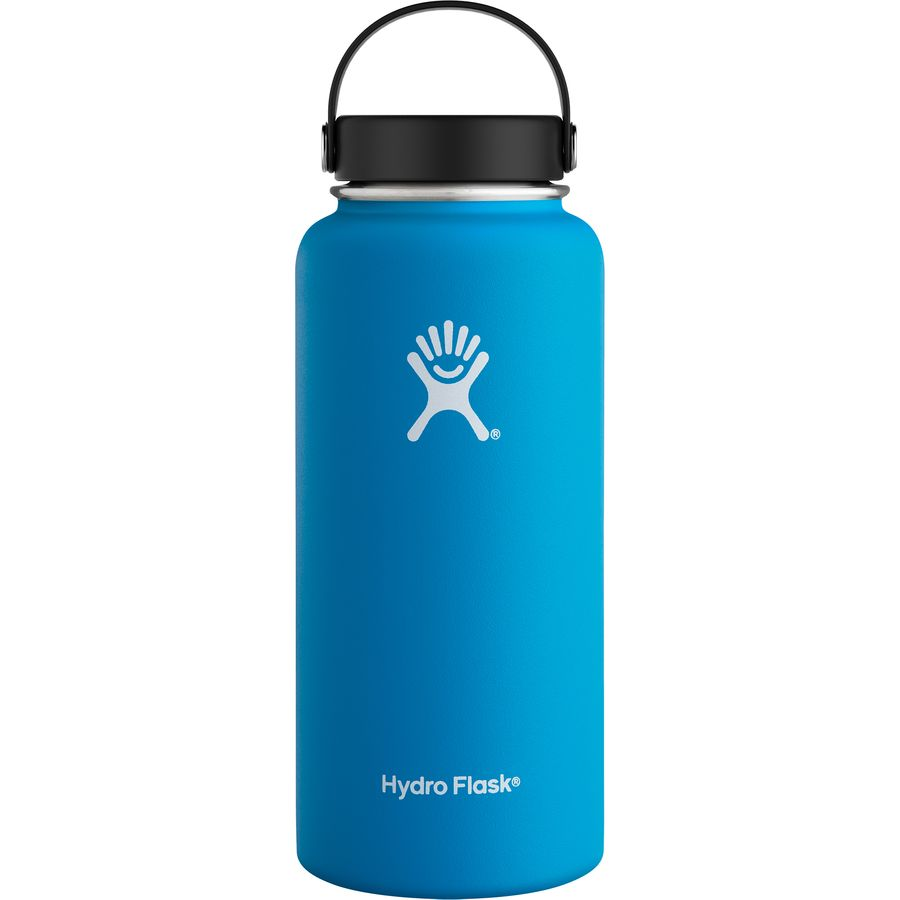 c61b4ef3bd Hydro Flask Lemon 32 Oz Wide Mouth Water Bottle - Image Collections ...