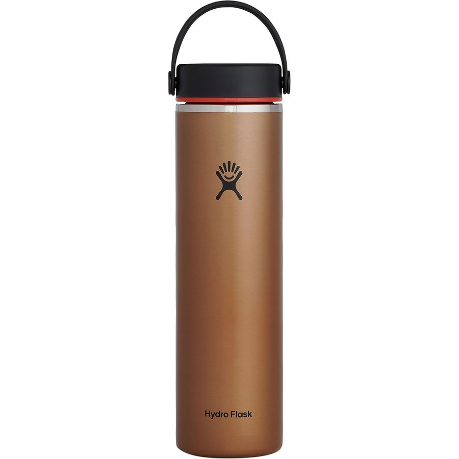 Hydro Flask 24oz Wide Mouth Trail Lightweight Water Bottle with Flex Cap