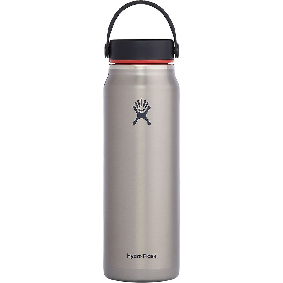 Hydro Flask 32oz Wide Mouth Trail Lightweight Water Bottle with Flex Cap
