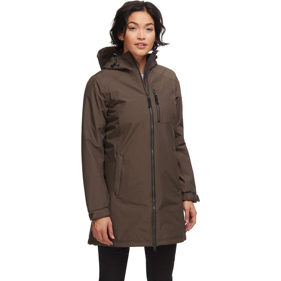 Helly-Hansen Womens Long Belfast Winter Waterproof Windproof Breathable Jacket