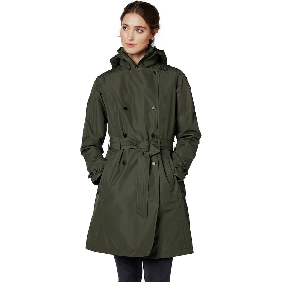 great deals look for sophisticated technologies Helly Hansen Welsey Insulated Trench Coat - Women's