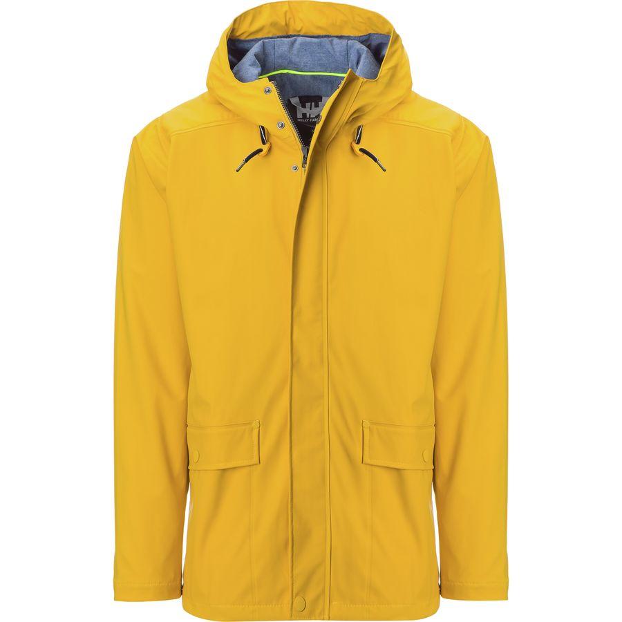 01b1415a Helly Hansen - Lerwick Rain Jacket - Men's - Essential Yellow