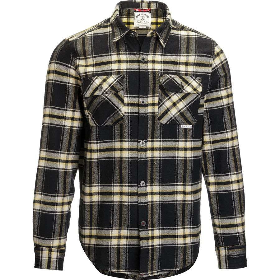 Iron and Resin Benchmark Flannel Shirt - Mens