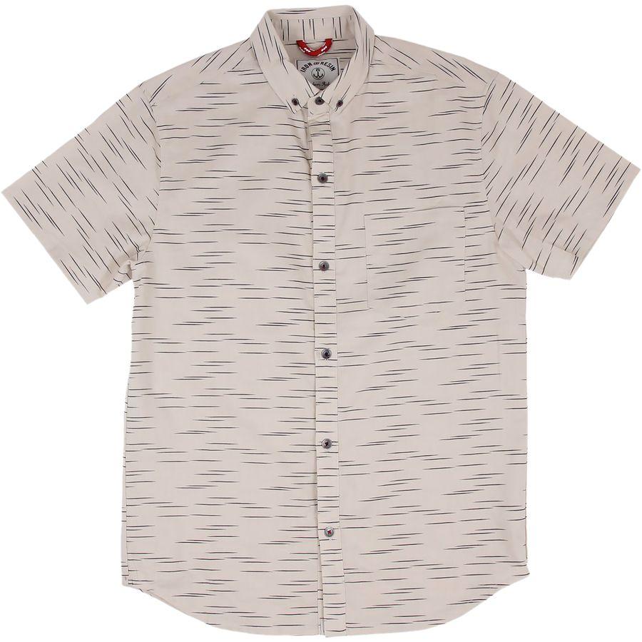 Iron and Resin Linear Shirt - Short-Sleeve - Mens