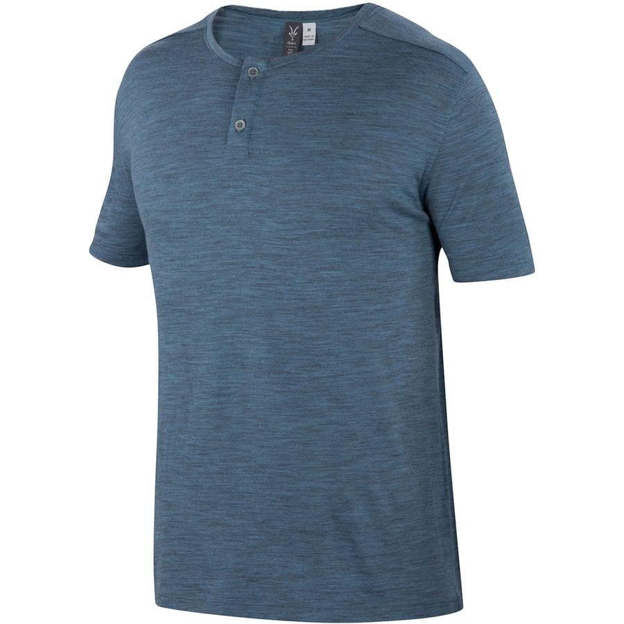 Ibex Henley T-Shirt - Mens