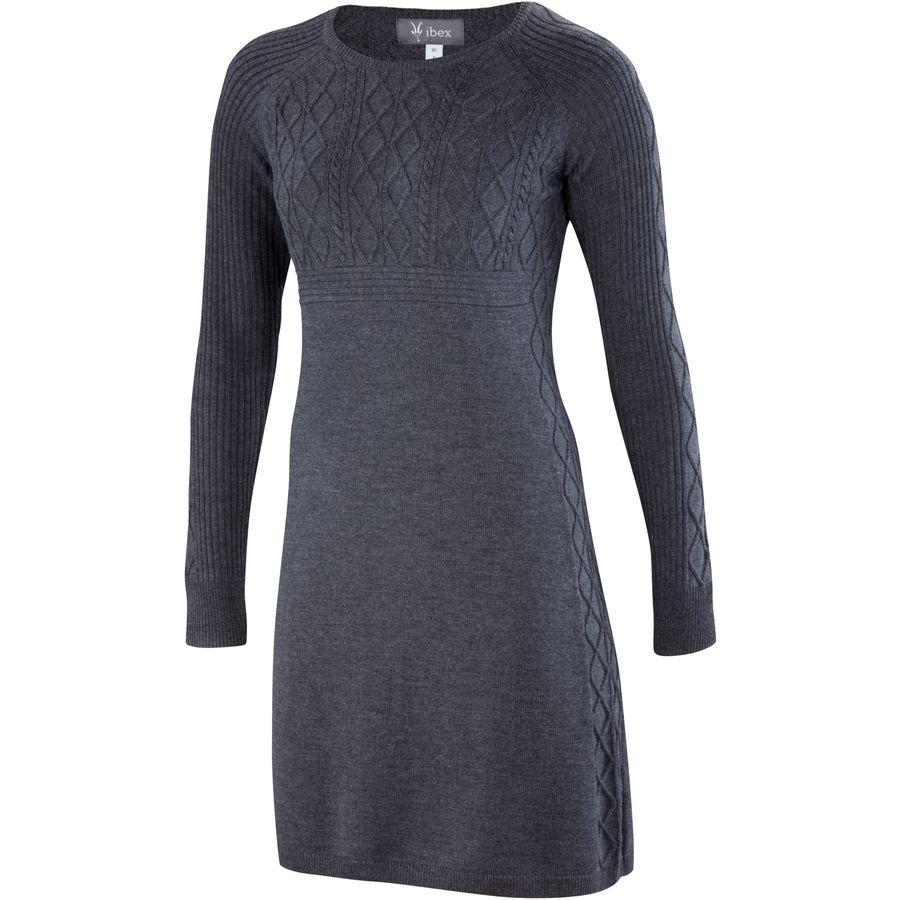 Ibex Arranmore Sweater Dress - Womens