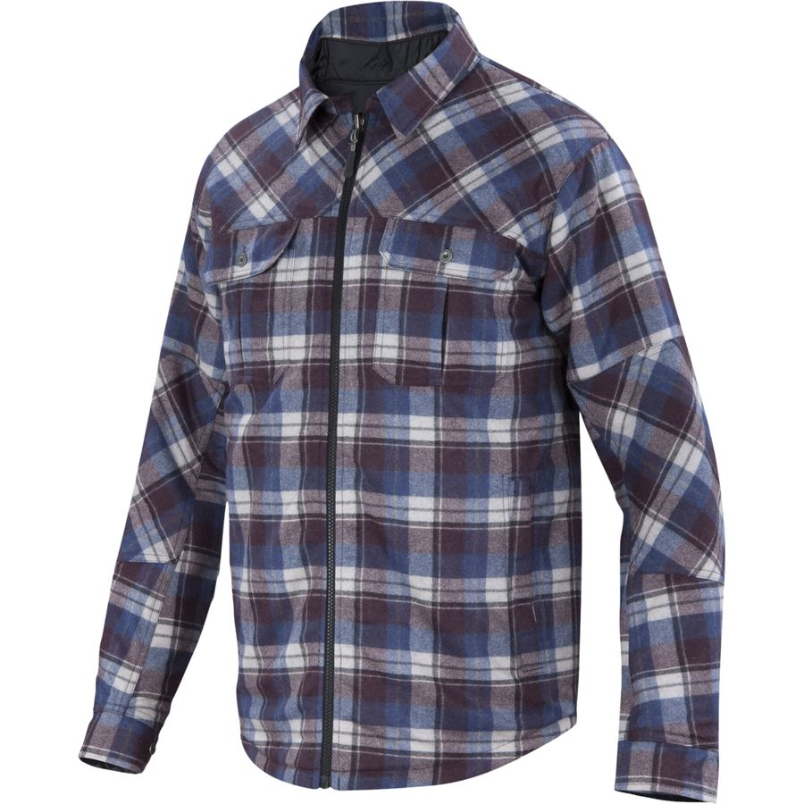 Ibex Wool Aire Reversible Camp Shirt Jacket - Mens