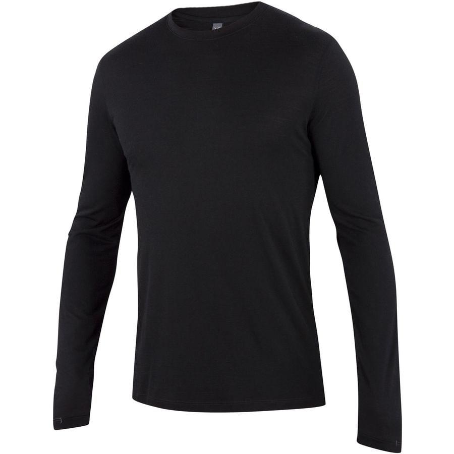 Ibex Essential Long-Sleeve Crew Shirt - Mens