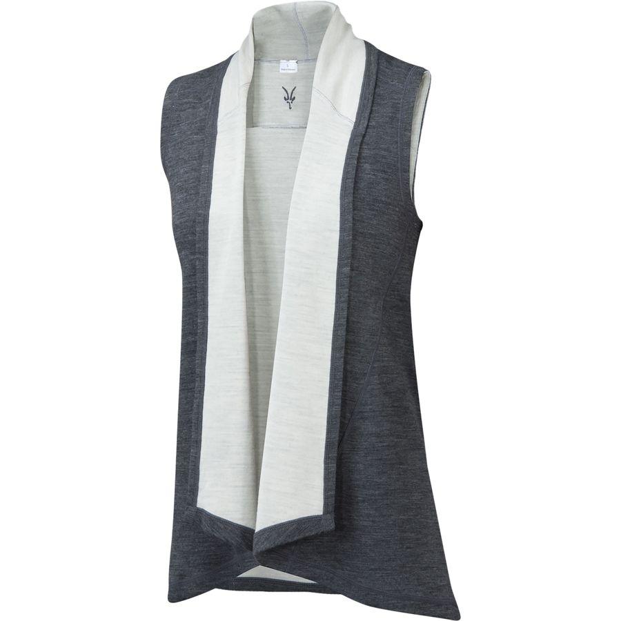 Ibex Dyad Shawl Vest - Womens