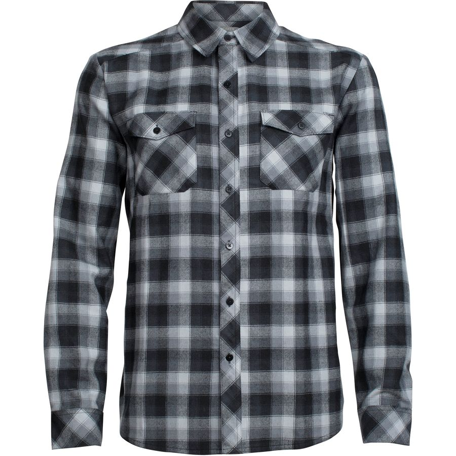 Icebreaker Lodge Flannel Shirt - Mens