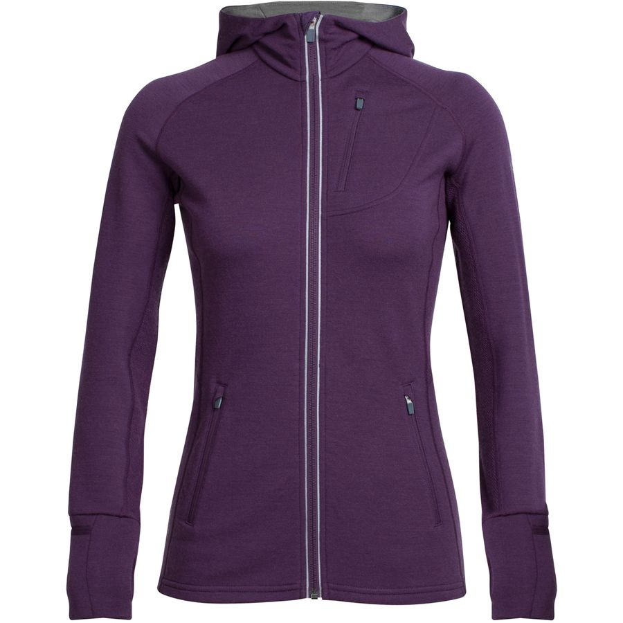 Icebreaker Quantum Full-Zip Hooded Jacket - Womens