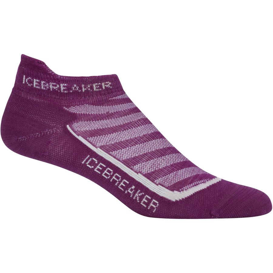 Icebreaker Run Plus Ultra Light Anatomical Micro Sock - Womens