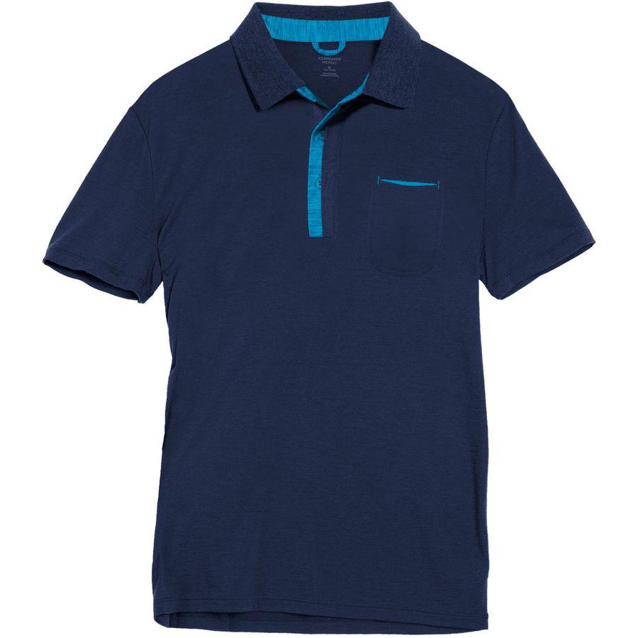 Icebreaker Quattro Polo Shirt - Mens