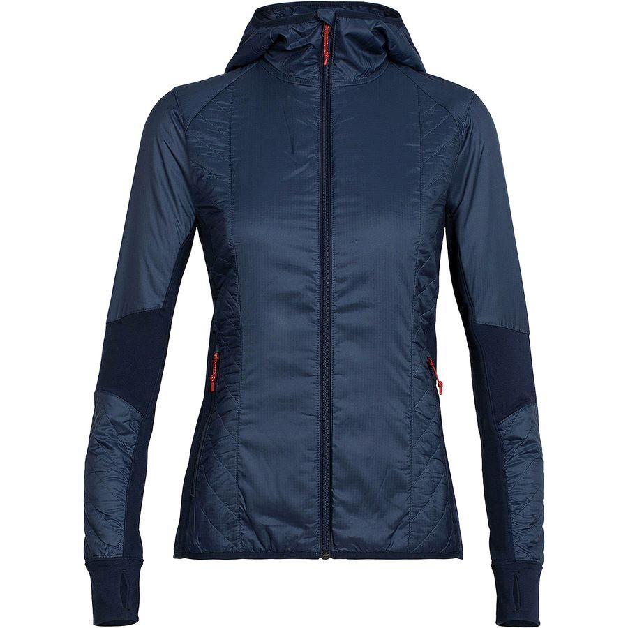 Icebreaker Helix Full-Zip Hooded Jacket - Womens