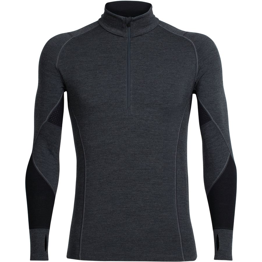 Icebreaker BodyFit 260 Winter Zone 1/2-Zip Top - Mens