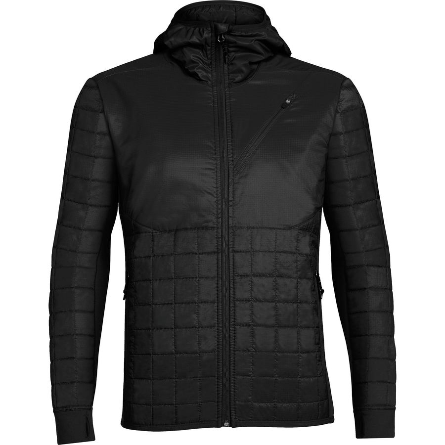 Icebreaker Helix Hooded MerinoLoft Jacket - Mens