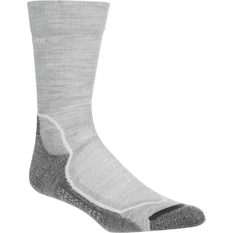 Icebreaker Hike Plus Light Cushion Crew Sock - Womens