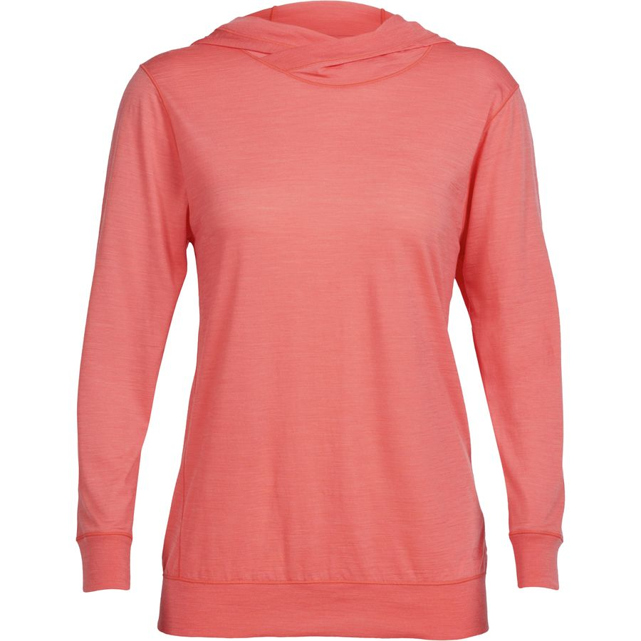 Icebreaker Mira Hooded Shirt - Womens