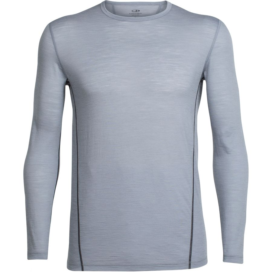 Icebreaker Aero Long-Sleeve Crewe Shirt - Mens