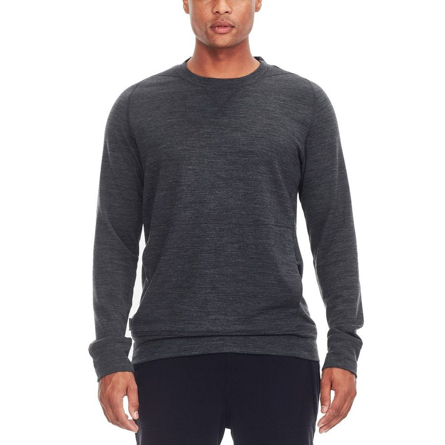 Icebreaker Shifter Long-Sleeve Crewe Sweater - Mens