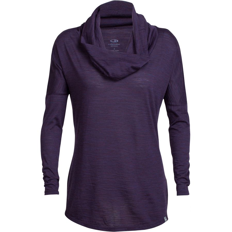 Icebreaker Aria Funnel Top - Womens