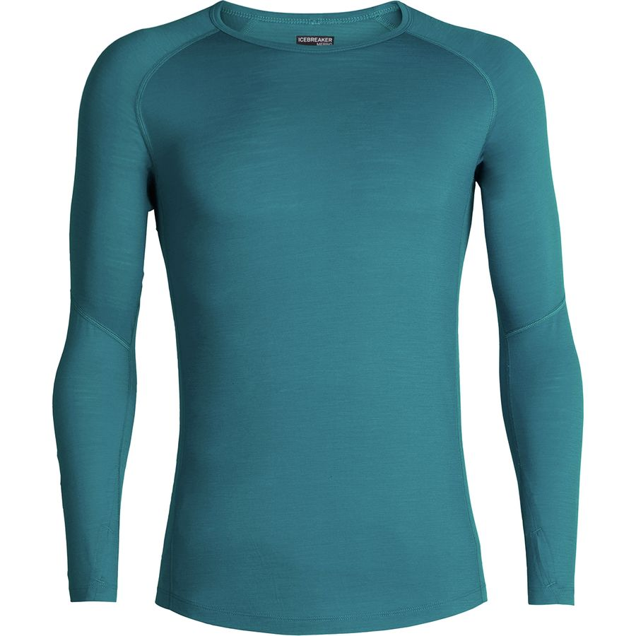 75fc012ee Icebreaker - 150 Zone Long-Sleeve Crew Shirt - Men's - Alpine/Monsoon