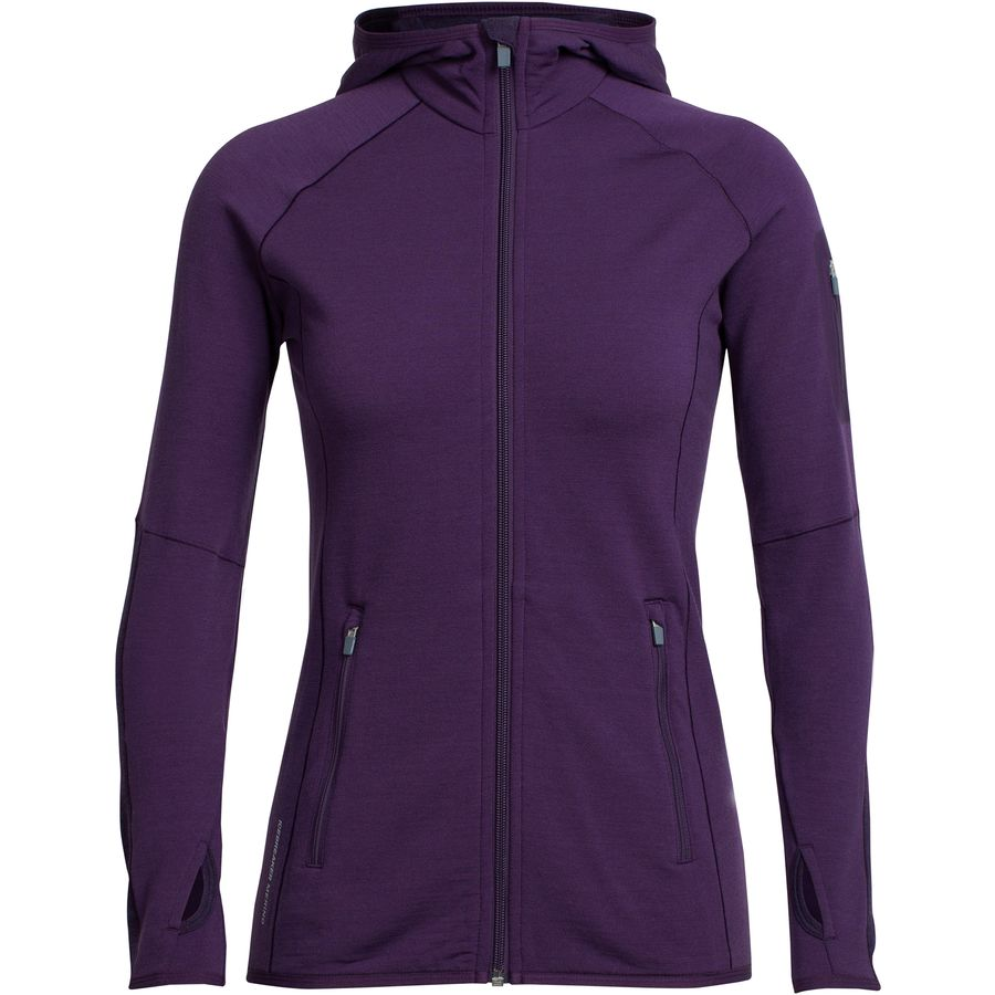 Icebreaker Atom Hooded Zip - Womens