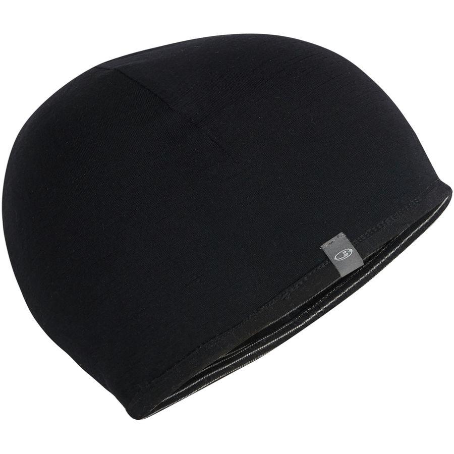 Icebreaker - Pocket Hat - Kids  - Black Snow Black 6d3e3eb01f0