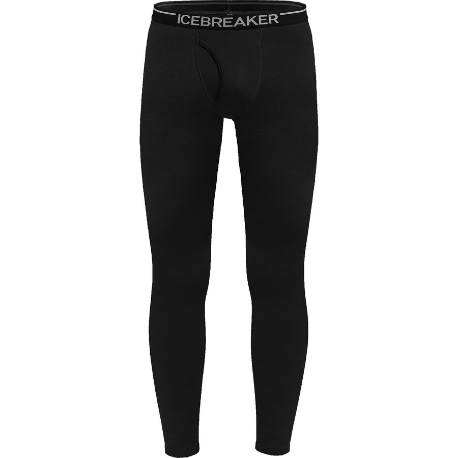 Icebreaker - Bodyfit 260 Midweight Apex Leggings with Fly - Men's - Black