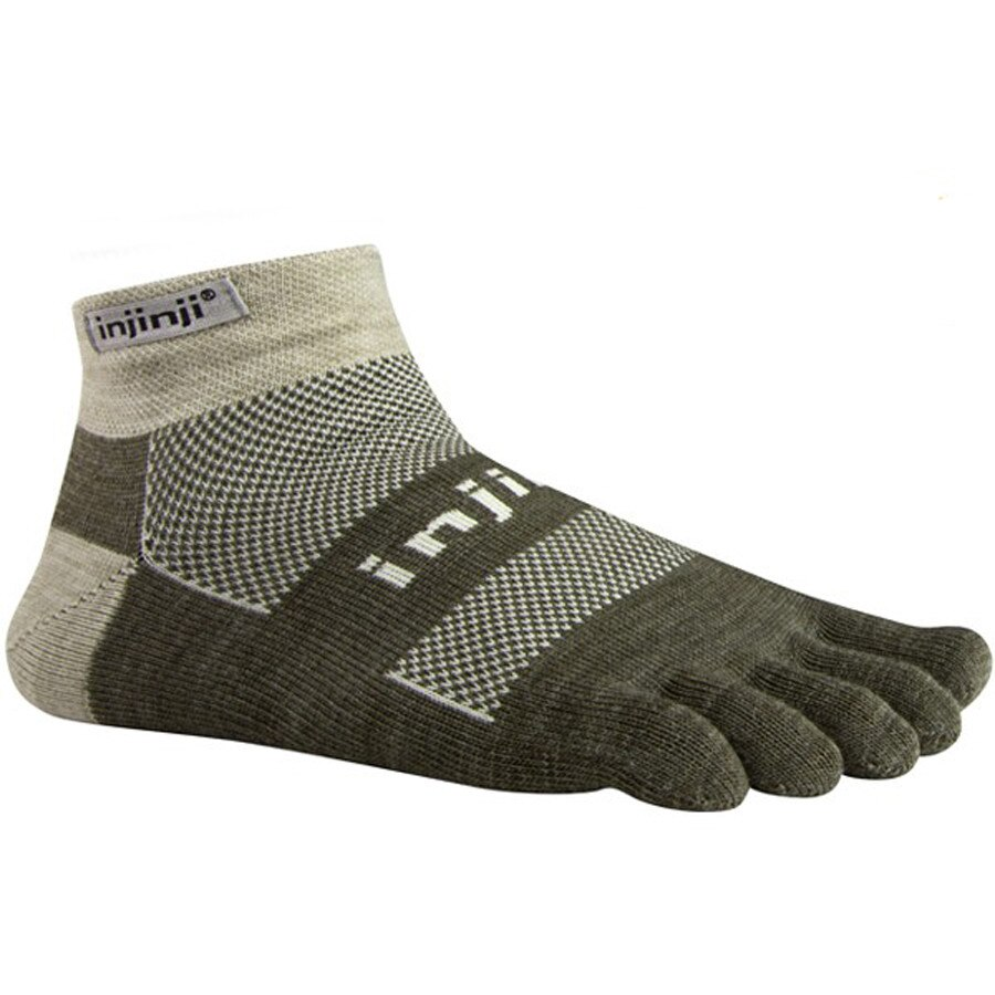 Injinji Outdoor Original Weight Micro Nuwool Toe Sock - Mens