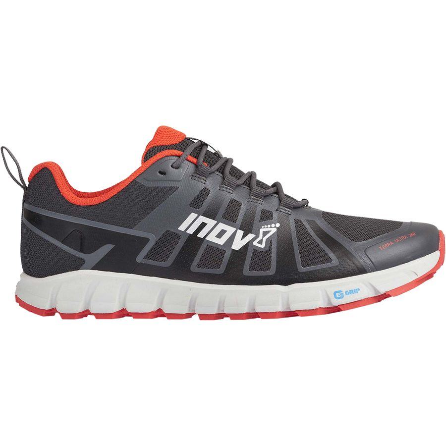 Inov8 Mens Terraultra G260 Trail Running Shoes Trainers Sneakers Black Sports