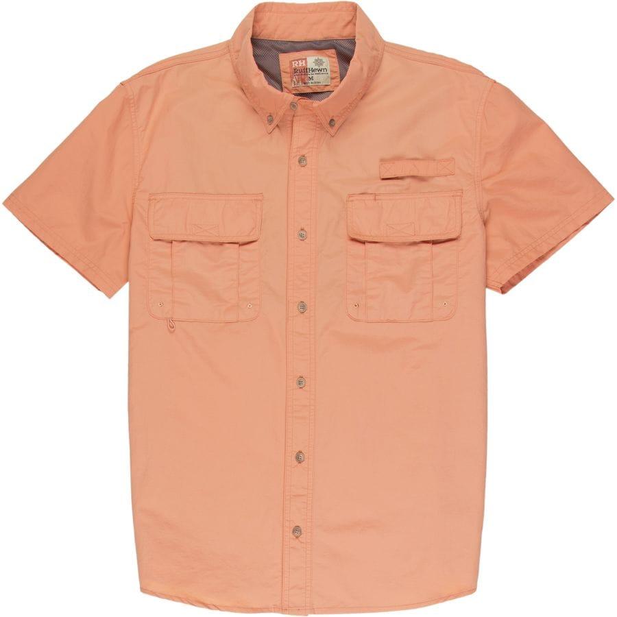 Smith 39 s performance nylon short sleeve fishing shirt men for Fishing shirts cheap