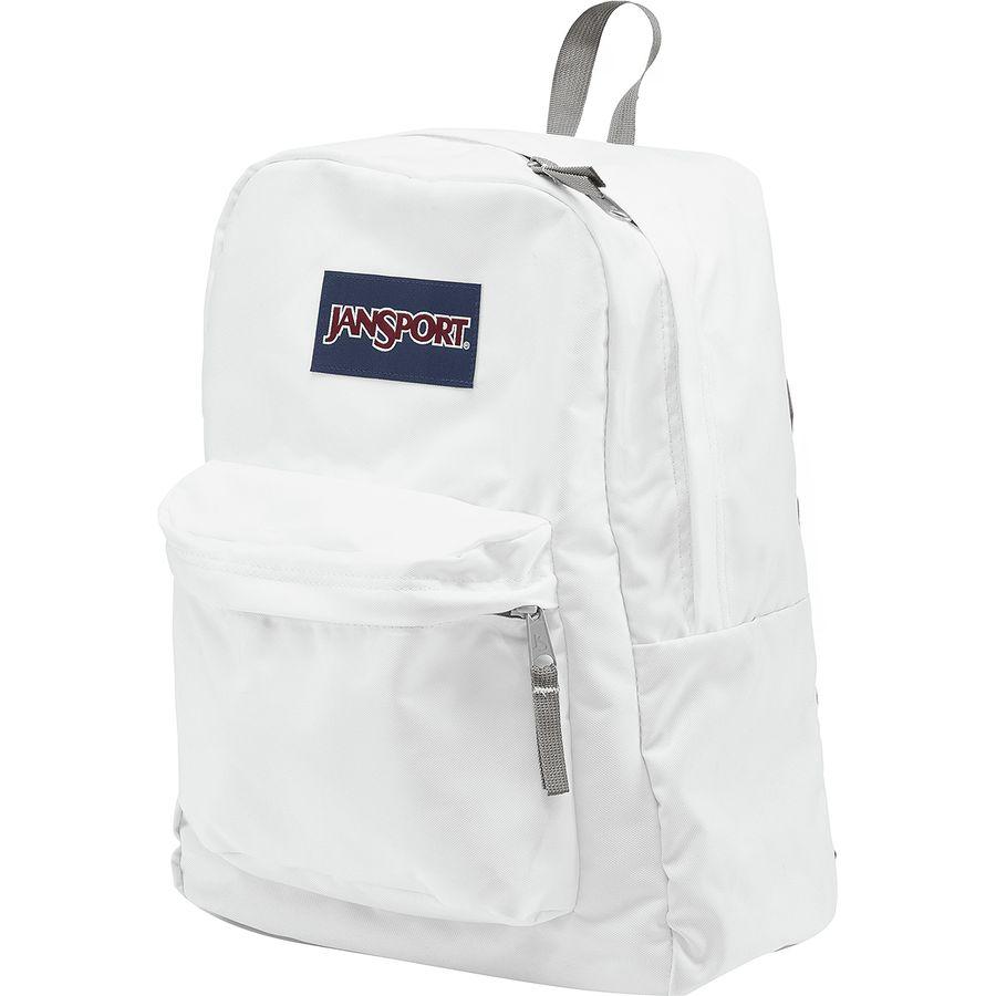 e3dcca9f2c JanSport - Superbreak 25L Backpack - White