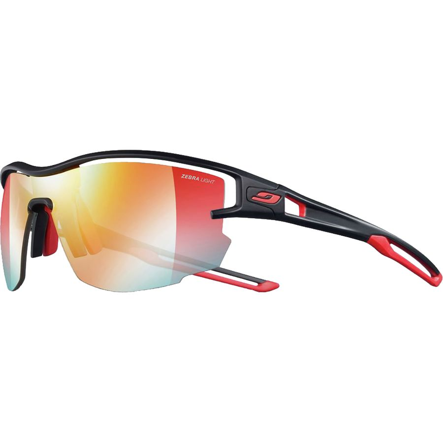 6fa523056b Julbo - Aero Zebra Sunglasses - Black Red Zebra Light