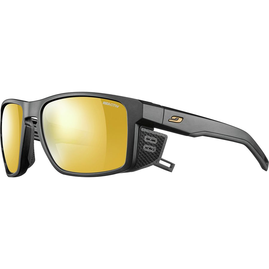 5241fb6319c Julbo - Shield Photochromic Zebra Sunglasses - Black Black