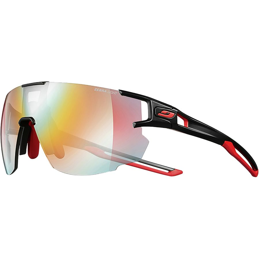 Julbo - Aerospeed Zebra Sunglasses - Black Red Red-Zebra Light Fire Yellow 7bc129a78d